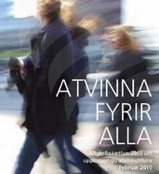 SA gefur út rit um aðgerðaáætlun 2010 um uppbyggingu atvinnulífsins.